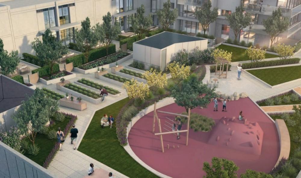 Bordeaux Solterra - outdoor playground