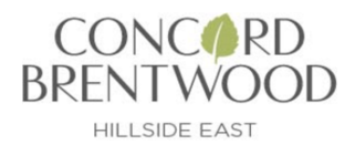 Concord Brentwood - hillside east