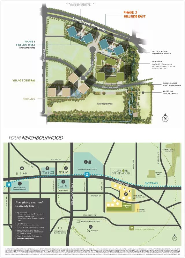 concord brentwood site plan