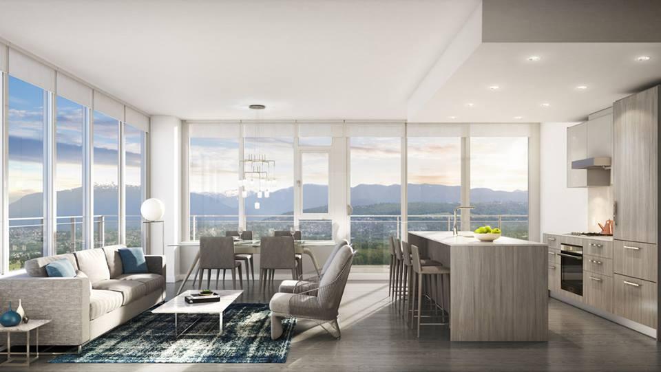 Polaris metrotown - living room