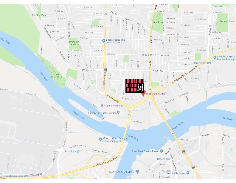 8888 osler - map