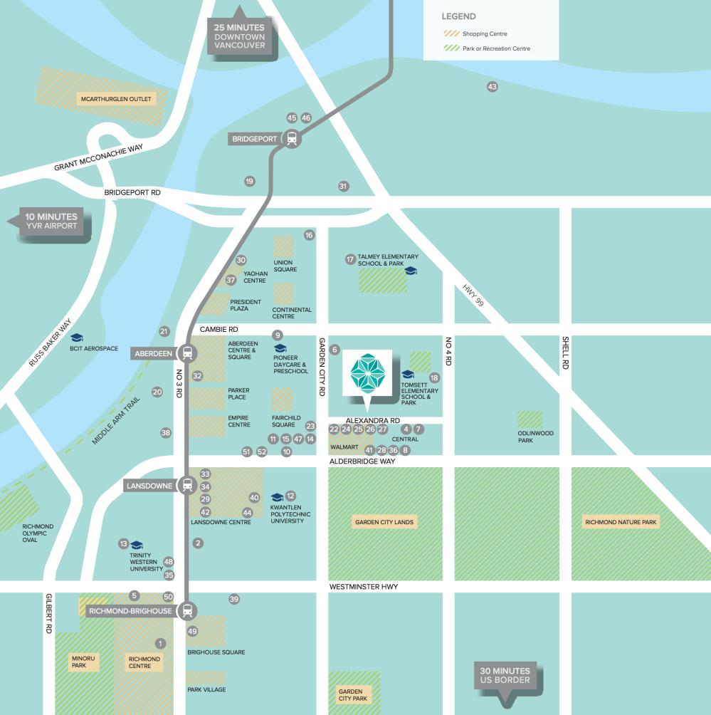 Spark Alexandra - map