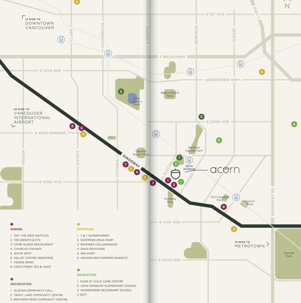 acron vancouver - map