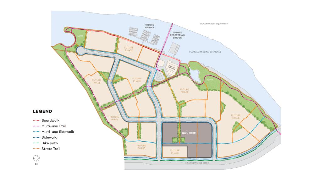 Bosa Squamish - site plan
