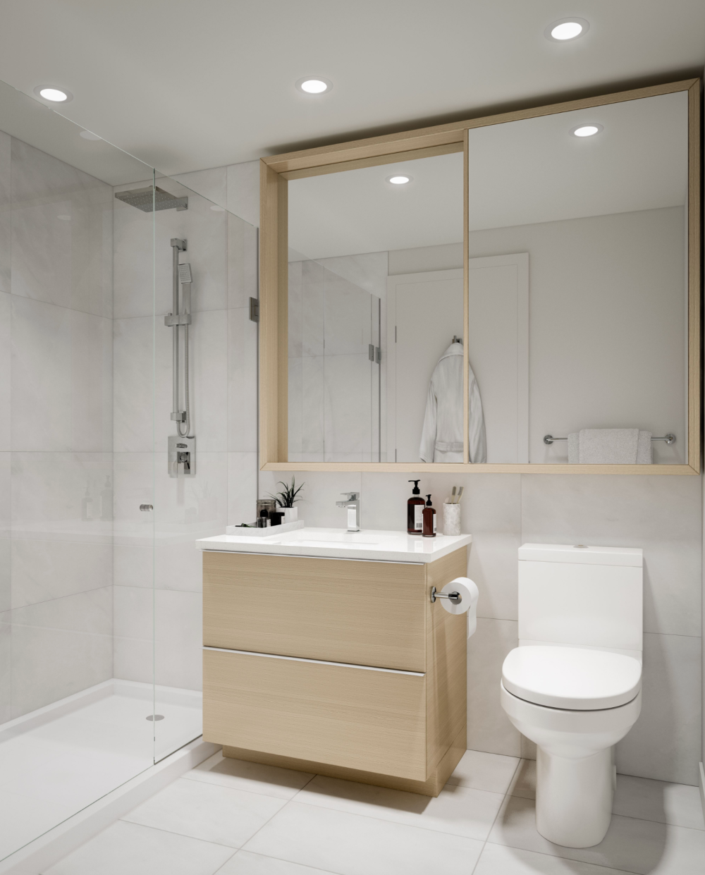 linea surrey - bathroom